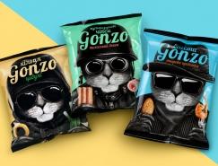 GONZO薯圈包装设计