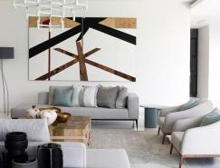 南非艺术收藏爱好者的极简风格艺术之家