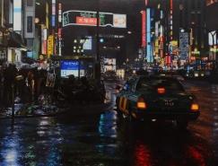 Richard Heisler马术和城市风景绘画作品