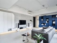140平米现代工业风时尚住宅设计