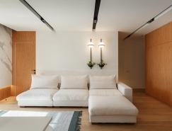 温馨的自然色调:乌克兰135平米公寓装修设计