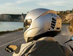自帶空調的摩托頭盔設計