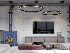 极简主义遇到摩洛哥风格:159平米二层住宅空间