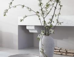 单色的宁静,巴黎一间充满了诗意的极简主义住宅
