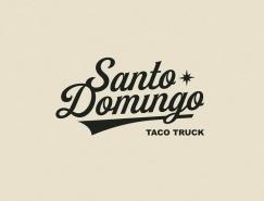 墨西哥卷饼车Santo Domingo品牌视觉设计