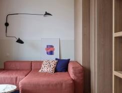 拥有强烈的个人风格的3个小公寓装修设计