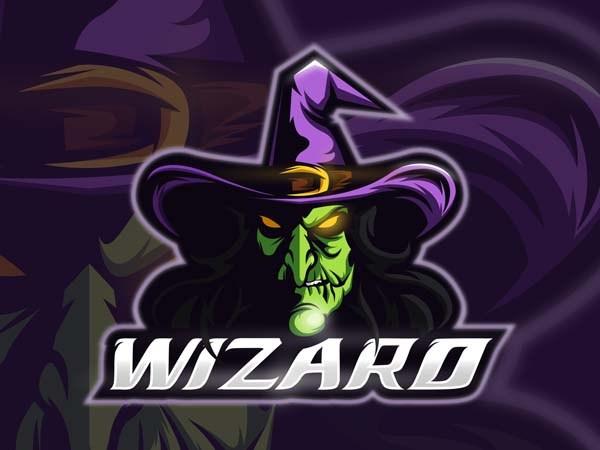 标志设计元素应用实例:巫师