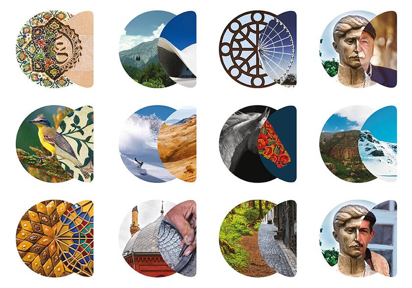 吸引旅游和投资,阿塞拜疆推出全新的国家品牌形象设计