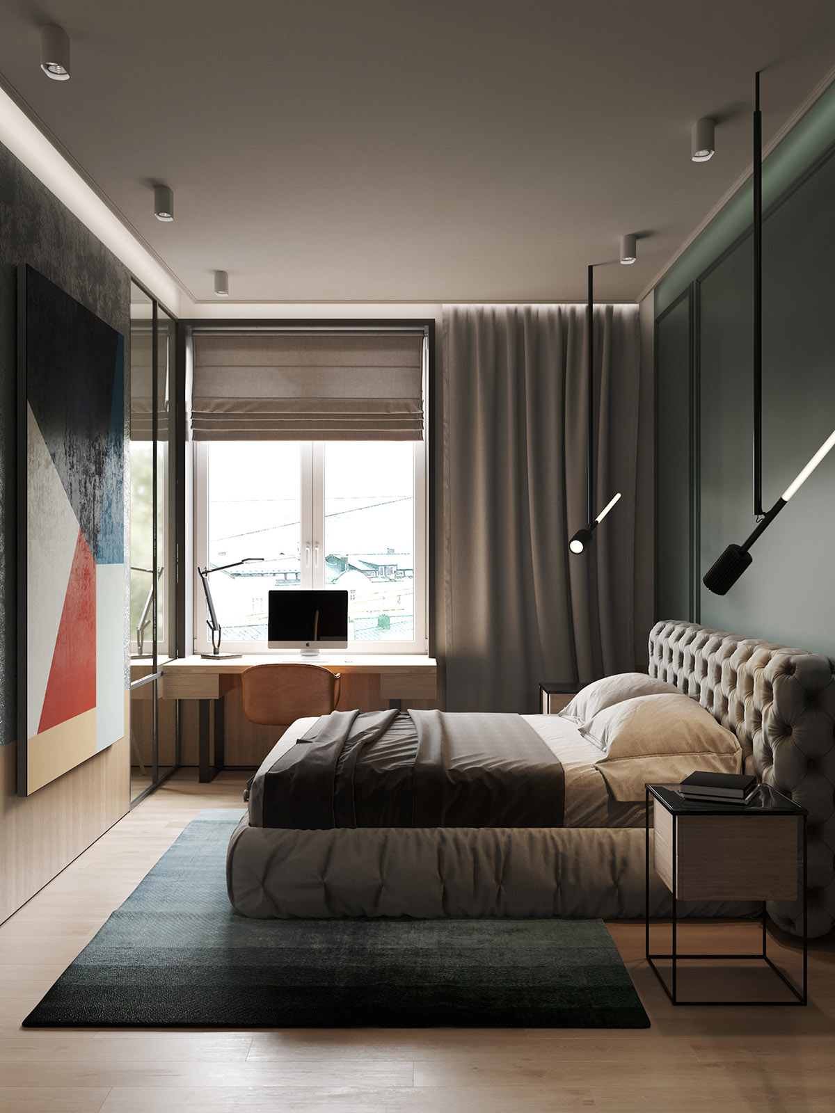 精美质感的66平方米的小公寓设计
