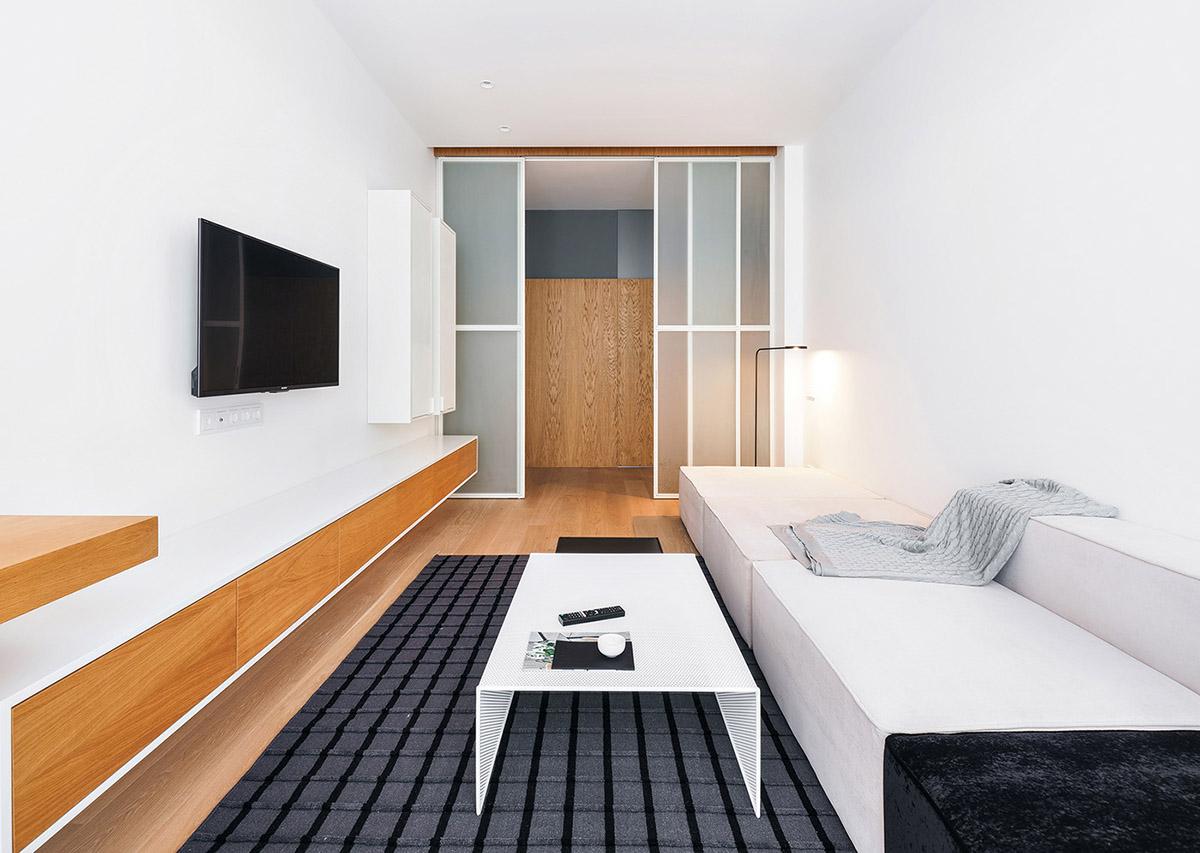 小户型 大空间:65平米小公寓装修设计