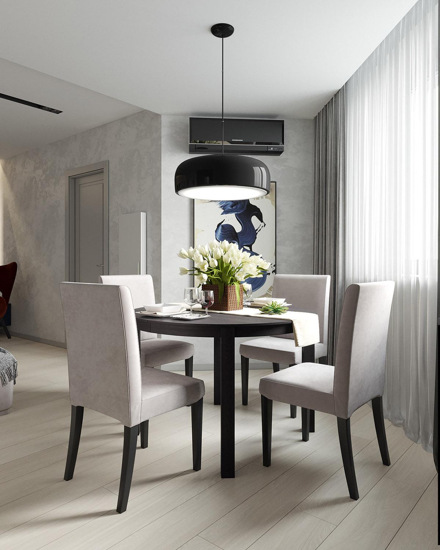 充满活力的空间:色彩缤纷的现代公寓设计