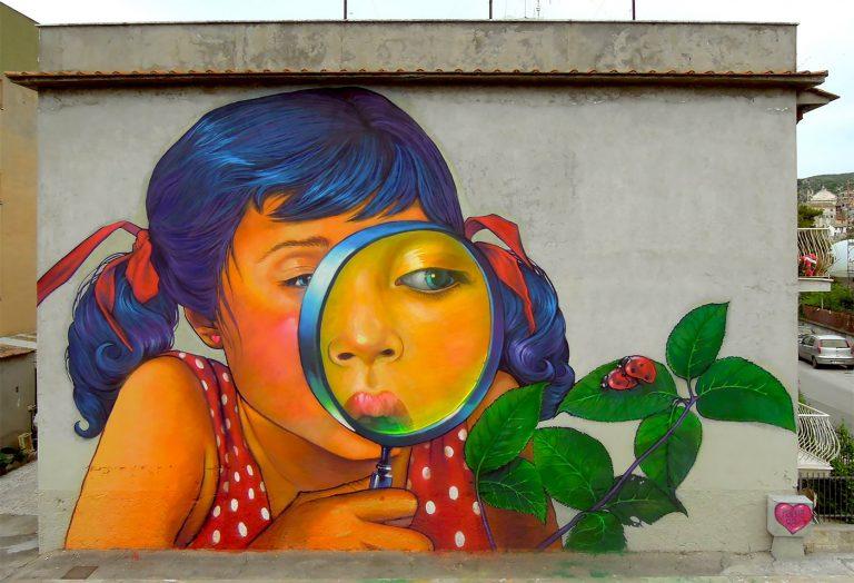 Natalia Rak街头墙绘艺术作品