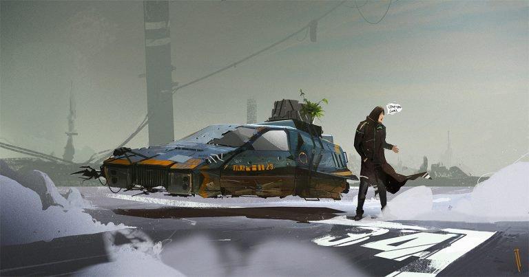 Ismail Inceoglu概念插画作品