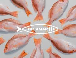海产公司Delamar品牌形象设计