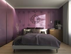 33个紫色主题卧室装修设计