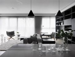 优雅的灰:精致简约风格住宅装修设计
