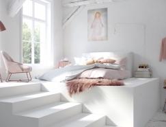 51款温馨的卧室设计欣赏