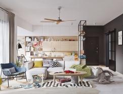 5个清新时尚的斯堪的纳维亚风格家居装修设计