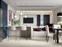 充满活力的空间:色彩缤纷的现代公寓设