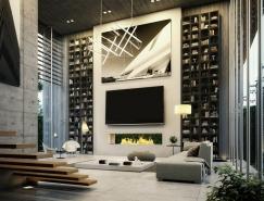 51个豪华风格起居室装修设计
