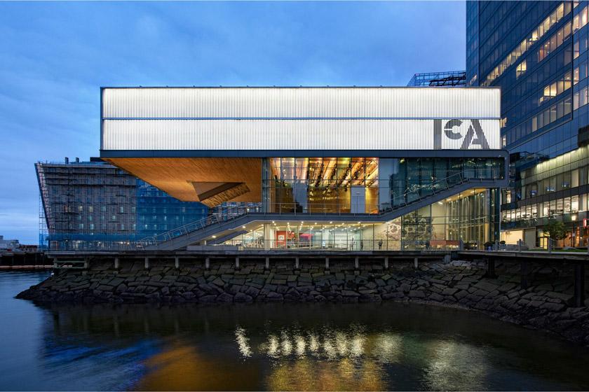 波士顿当代美术馆(ICA)启用全新品牌LOGO