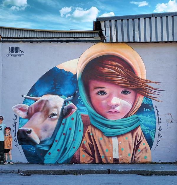 YASH街头艺术作品