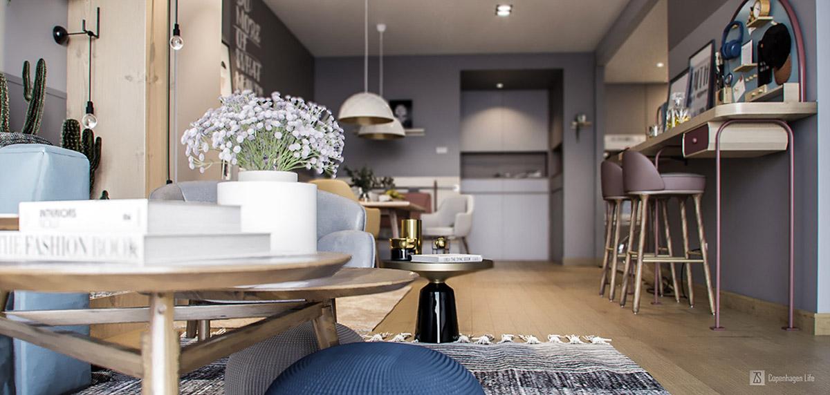 3个时尚小公寓装修设计