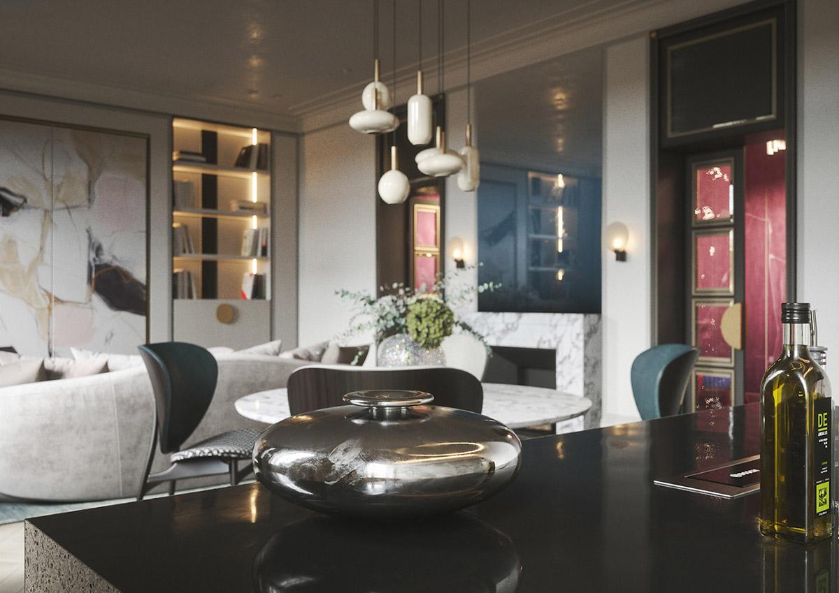 3个现代优雅的家居装修设计