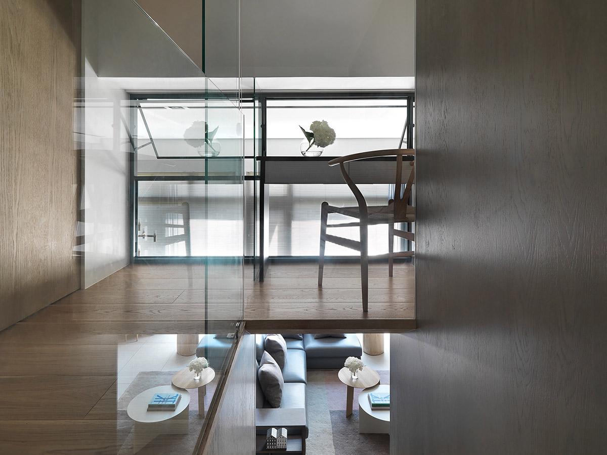 2个精致a户型的户型系家居装修设计室内设计蓝色设计效果图小客厅图片