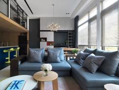 2个精致典雅的蓝色系家居装修设计
