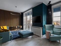 布达佩斯Gin & Tonic公寓设计