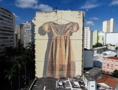 阿根廷艺术家Hyuro街头壁画艺术作品