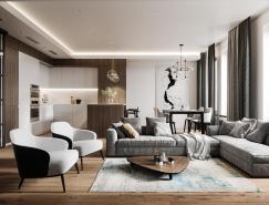 精致现代的简约风家居装修设计