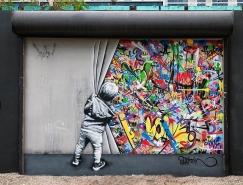 挪威艺术家Martin Whatson街头艺术作品