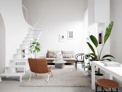 3个现代北欧极简风格家居装修欣赏