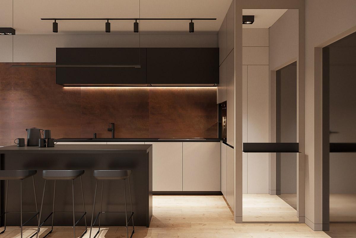 四个紧凑的小型公寓装修设计