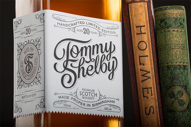 30款威士忌酒瓶包装和标签设计