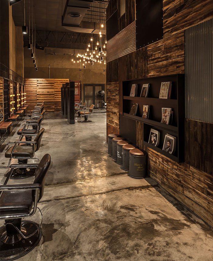 Glitz-Hair发廊旗舰店空间设计