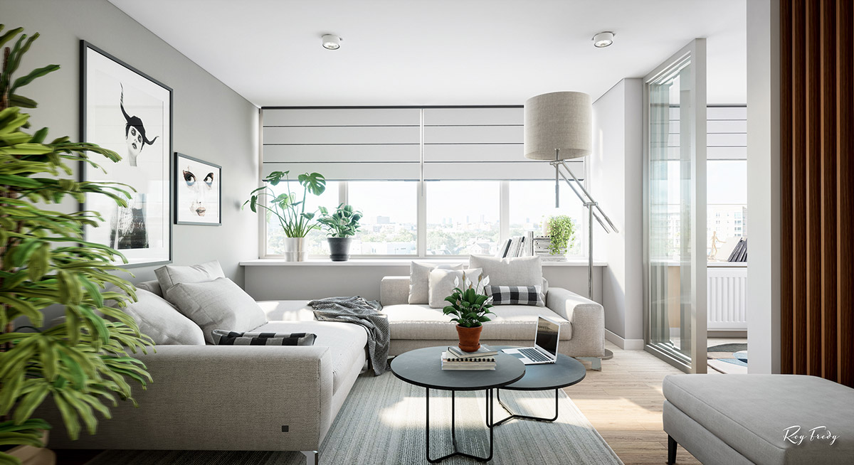 3个漂亮的小户型公寓装修设计
