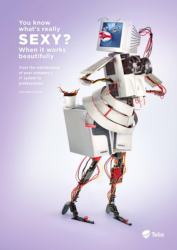 30款国外创意平面广告欣赏