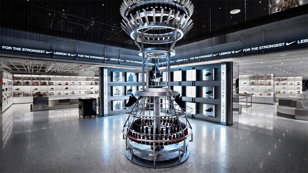 耐克创新之家000纽约旗舰店设计