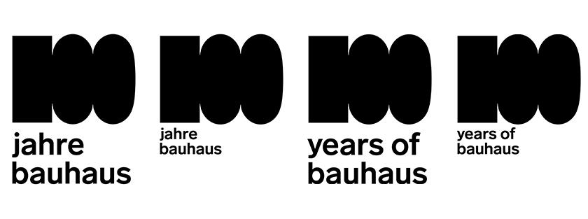 包豪斯建校100周年LOGO
