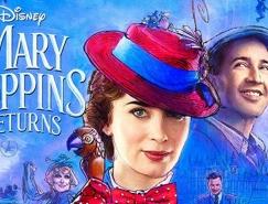 电影海报欣赏:新欢乐满人间(Mary Poppins Retu
