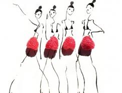 缤纷你的视觉味蕾 食尚插画家Gretchen Röehrs作品欣赏