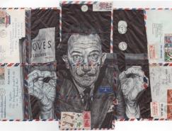 Mark Powell铅笔画作品欣赏