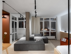 四个紧凑的小型公寓装修,体育投注