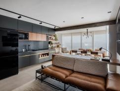巴西70㎡現代公寓裝修設計