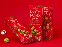 喜庆的红色:BonGenie马卡龙包装设计