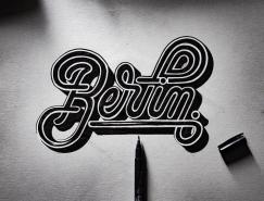 Emanuele Ricci創意手繪字體設計