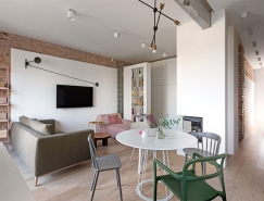 工业风格城市小公寓设计
